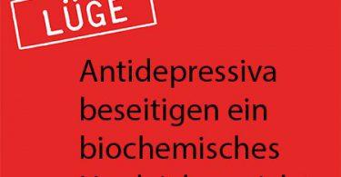 Das biochemische Ungleichgewicht