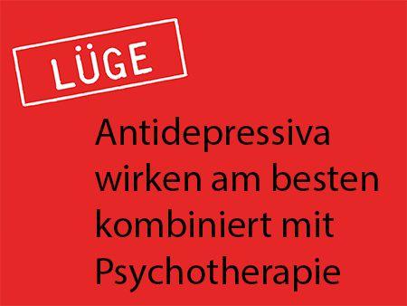 kombiniert mit Psychotherapie