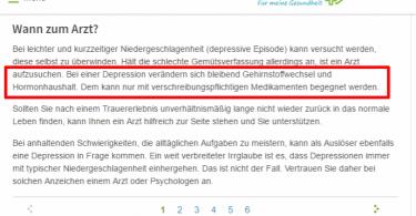 onmeda depression