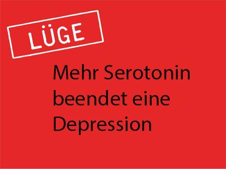 Mehr Serotonin beendet eine Depression