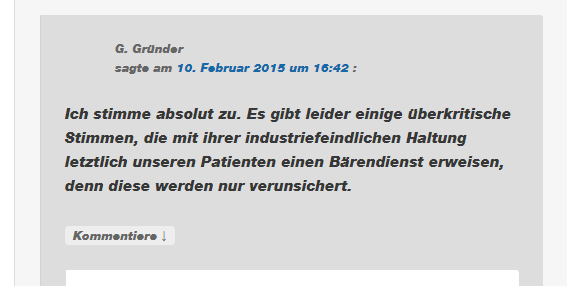 Industriefeind, Industriefreund
