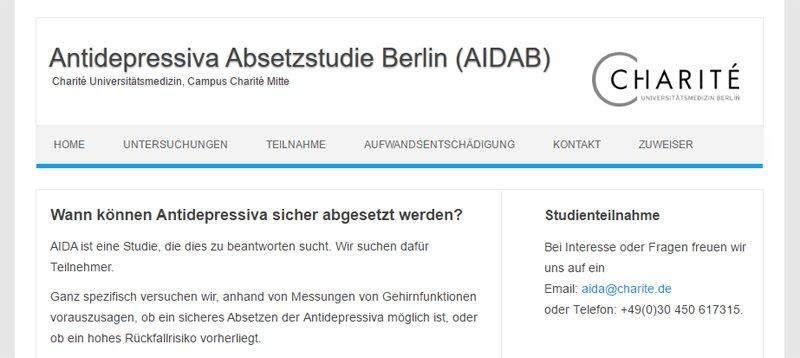 Absetzstudie Berlin
